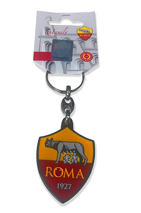 tex family Llavero de Metal esmaltado A.S. Roma: Amazon.es ...