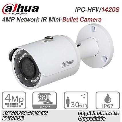 Amazon com : Dahua 4MP Bullet IP Camera IPC-HFW1420S 3 6mm
