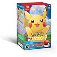 Pokémon: Let's Go, Pikachu! + Poké Ball Plus Pack (Renewed)