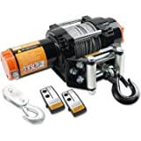 ORCISH 12V Waterproof 4500lb Electric ATV UTV Synthetic Rope Winch Kits (Steel Cable Style)