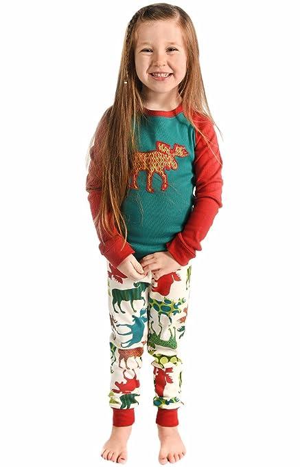 Amazon.com: Lazy One Family Matching Pajamas Patterned Moose: Clothing
