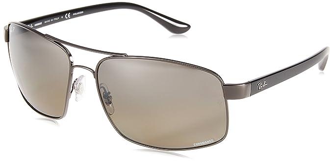 Ray-Ban 0RB3604CH Gafas de sol, Gunmetal, 62 para Hombre: Amazon.es ...