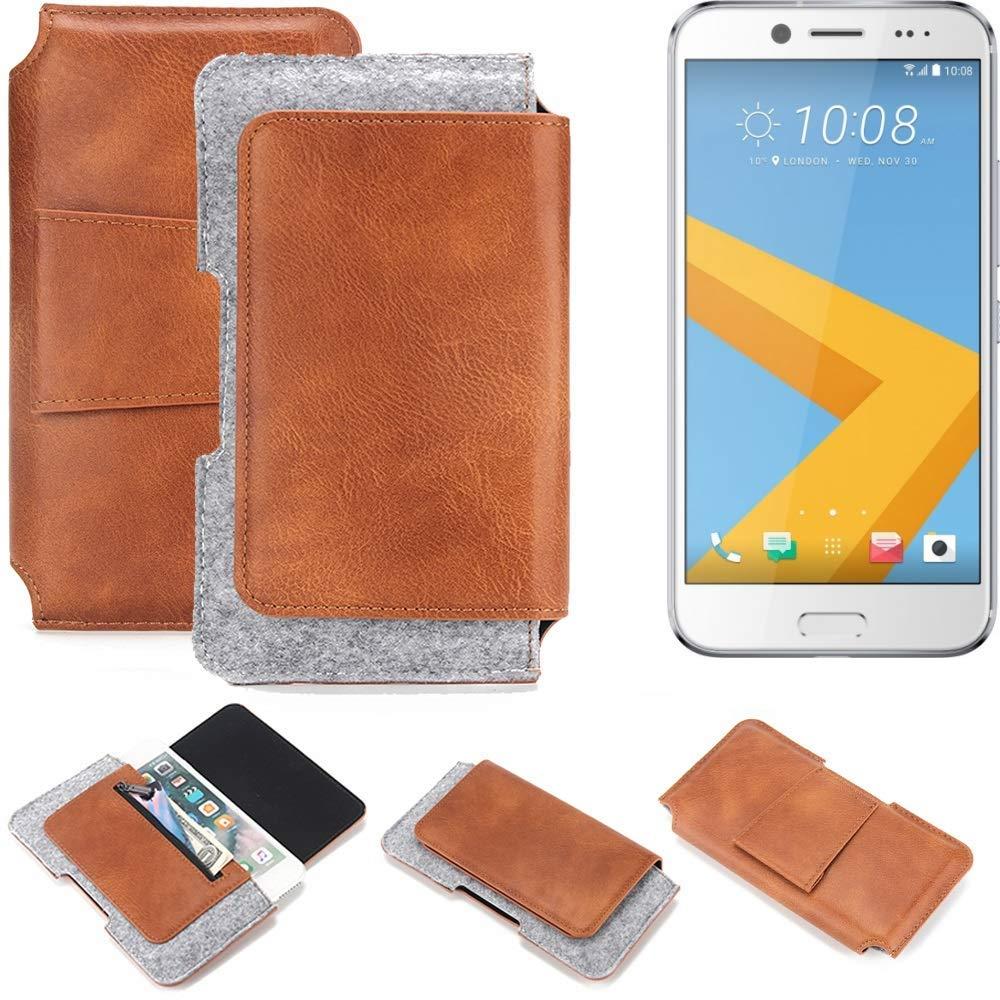 K-S-Trade Bolsa de cinturón para HTC 10 EVO Funda Protectora ...