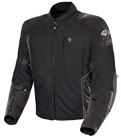 a41e0ad7b2 Amazon.com  Joe Rocket Phoenix Ion Men s Mesh Motorcycle Jacket (Black