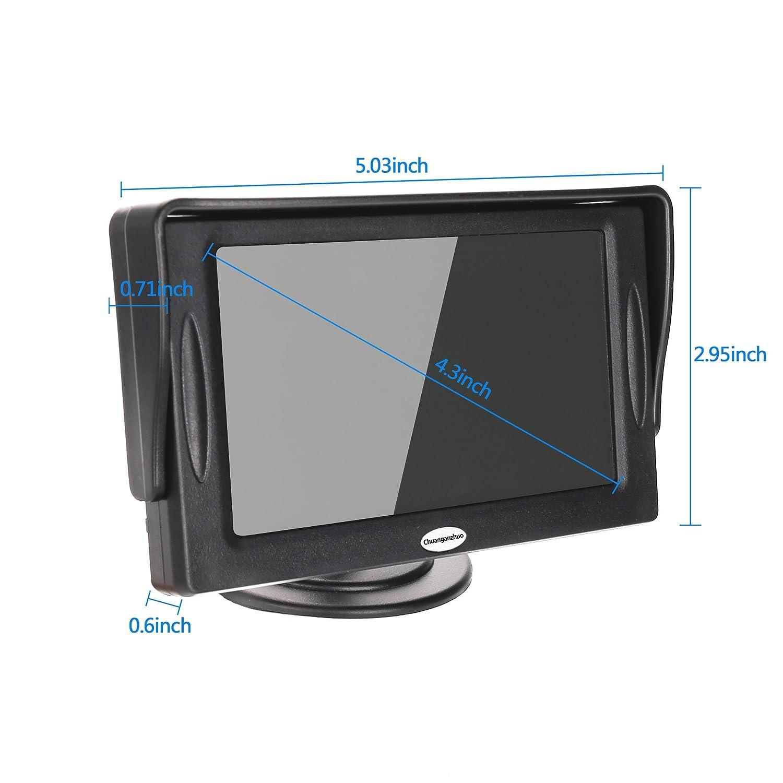 Amazing Amazon Com Backup Camera And Monitor Kit For Car Universal Wired Wiring Digital Resources Dadeaprontobusorg