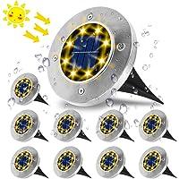 Luces Solares para Exterior,VIFLYKOO Luz Focos led Exterior Solar Luz de Jardin IP65 impermeable Lámpara de exterior…