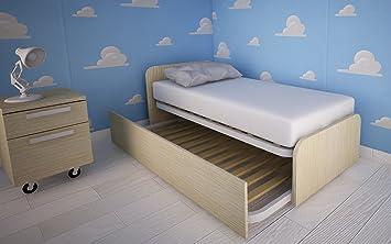 964 Bett Kinderzimmer Design Mit Nach Bett Ausziehbar Rovere