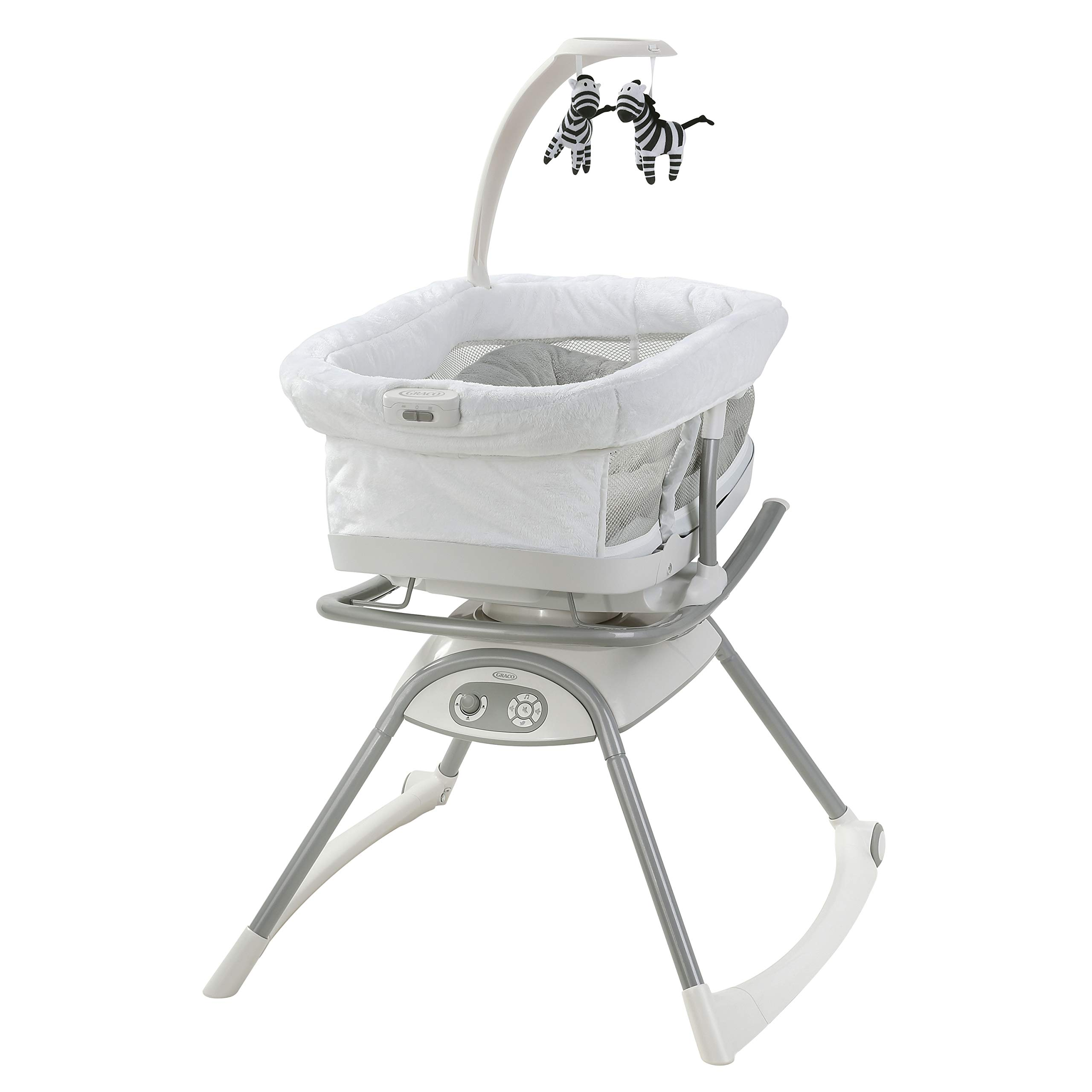 Graco Duet Glide LX Gliding Swing with Portable Sleeper, Zagg