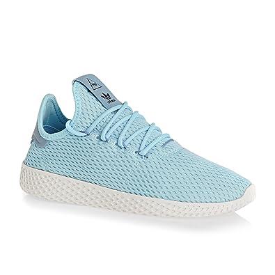 official photos adc1e 6714d Adidas Pharrell Williams Tennis Hu Girls Sneakers Blue