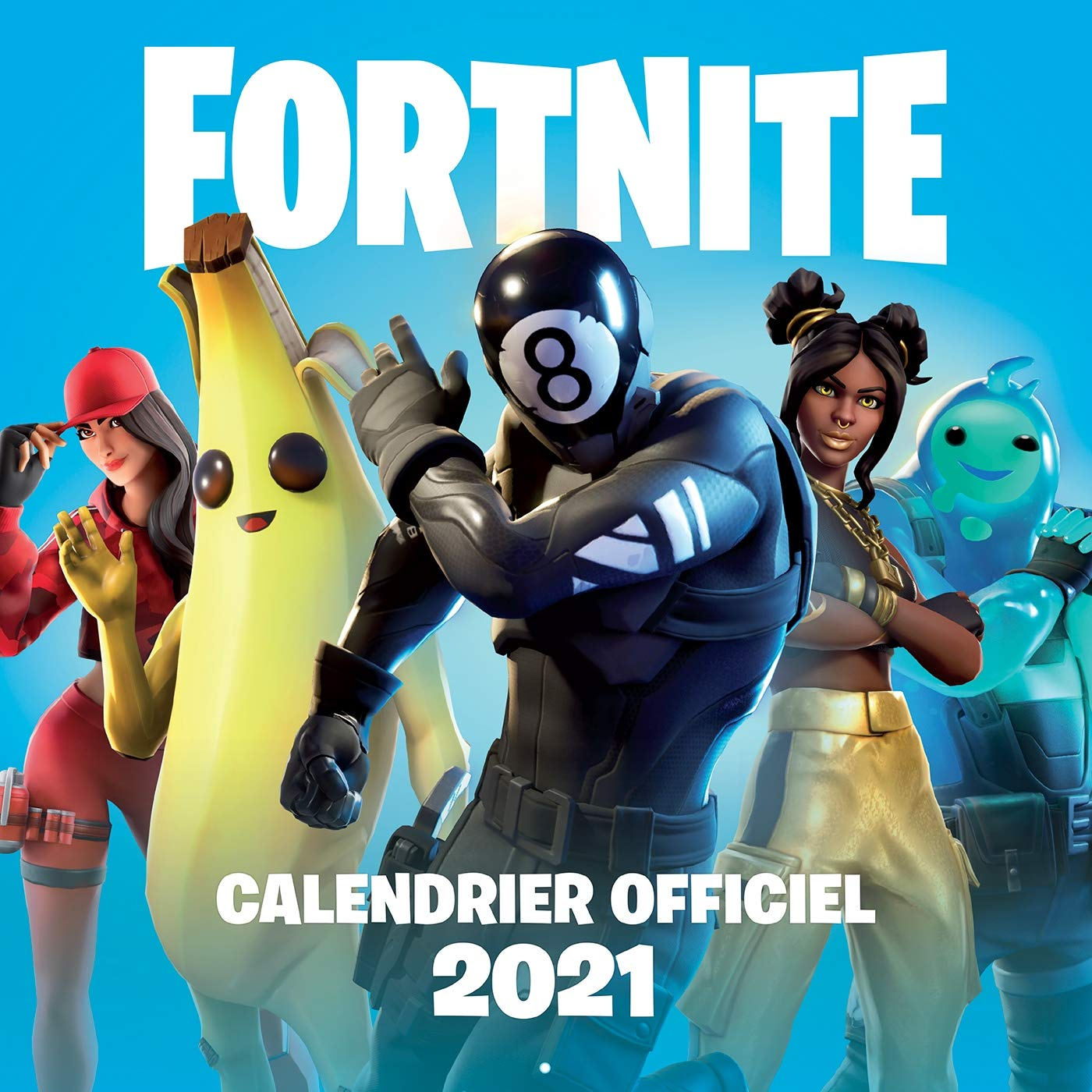 Fortnite Calendrier 2021: 9782016291399: Amazon.com: Books