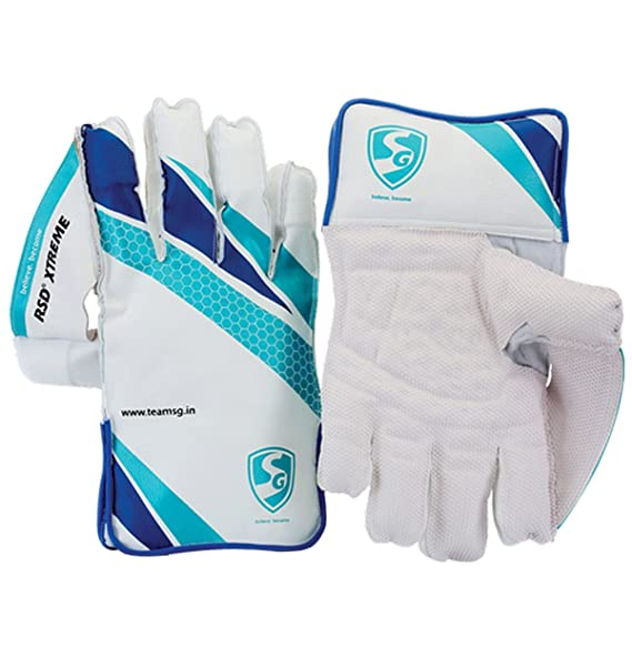 SG RSD Xtreme Wicket Keeping Gloves (Assorted) Cricket Wicket-Keeping Gloves at amazon