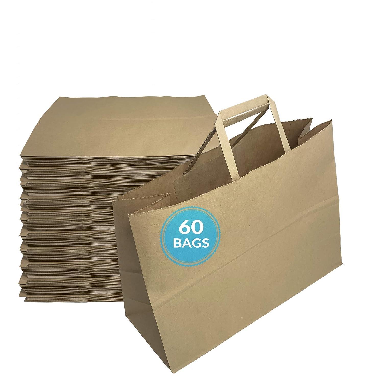 Reli. Paper Shopping Bags | 60 Pcs | Large 16
