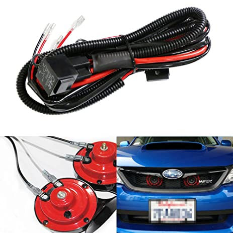 71pSH9TMJsL._SY463_ amazon com ijdmtoy (1) 12v horn wiring harness relay kit for car horn wiring harness india at soozxer.org