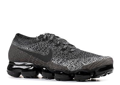 Nike Women Air Vapormax Flyknit Running Black Black-White-Racer Blue Size  8.5 US a91d260a4