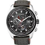 Citizen Herren-Armbanduhr Analog Quarz Leder AT9036-08E