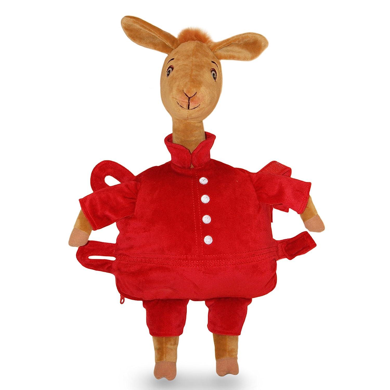 amazon com zoobies plush toy llama llama red pajama plush