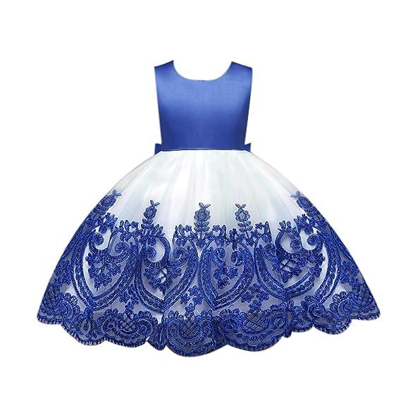 Bebling Vestido de niña Vestido de niña Cumpleaños Vestidos ...