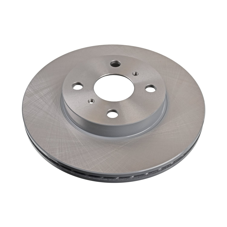 2 Brake Disc rear of Holes 5 No full Blue Print ADH24372 Brake Disc Set