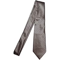 Extra Long Fashion Tie for Tall Men Solid Woven Jacquard Necktie 63-inch