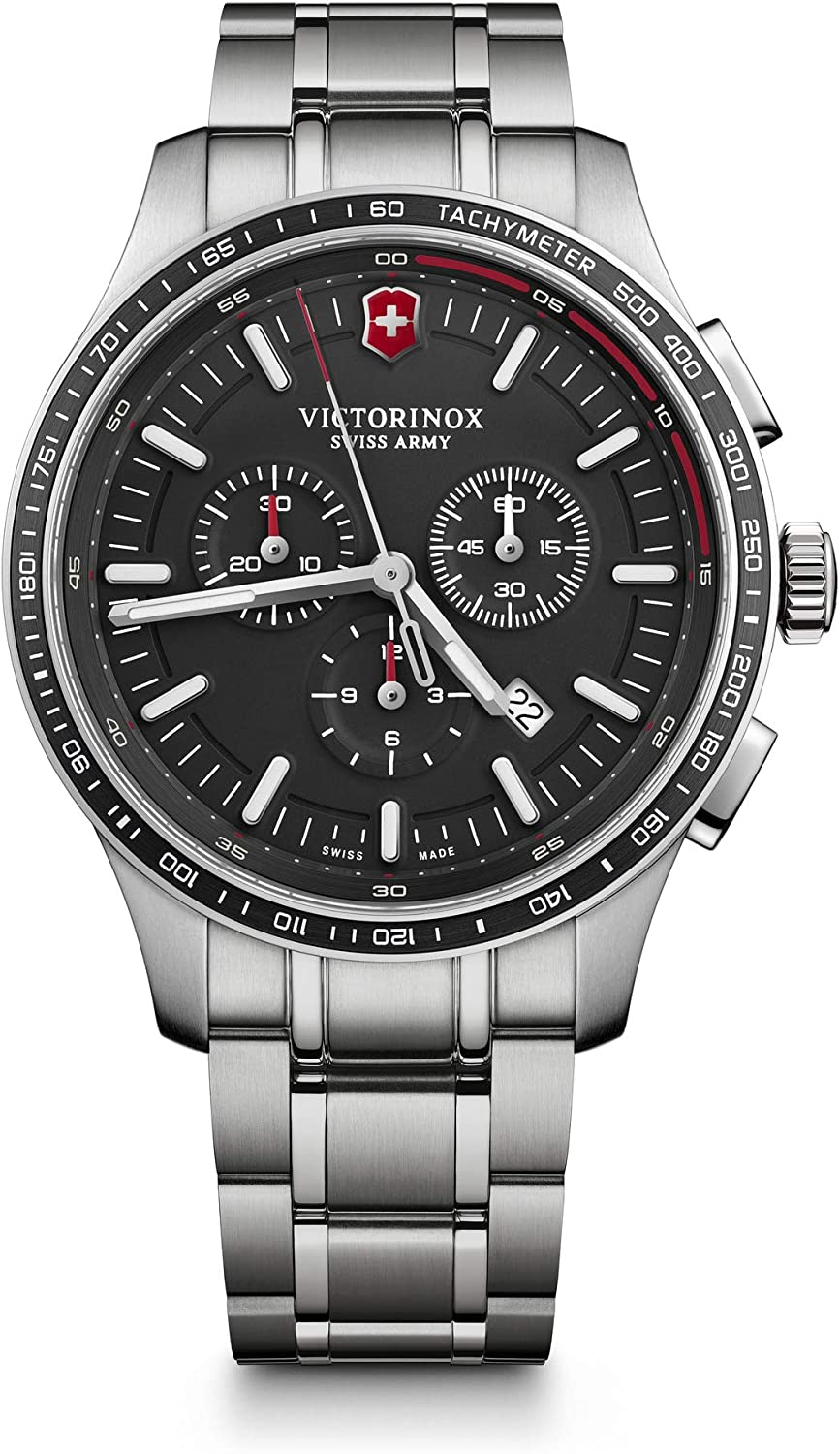 Victorinox Alliance Sport Chronograph Black Dial Men's Watch 241816