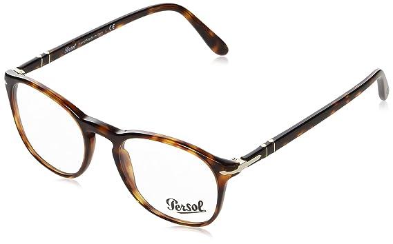 Amazon.com: Persol PO3007V - Gafas para hombre, Marrón, 50 ...