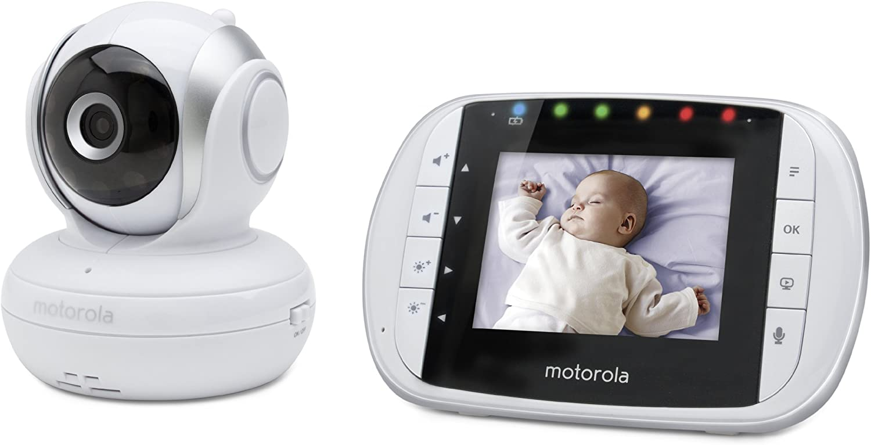 2.8 Inch Motorola MBP33S Video Baby Monitor