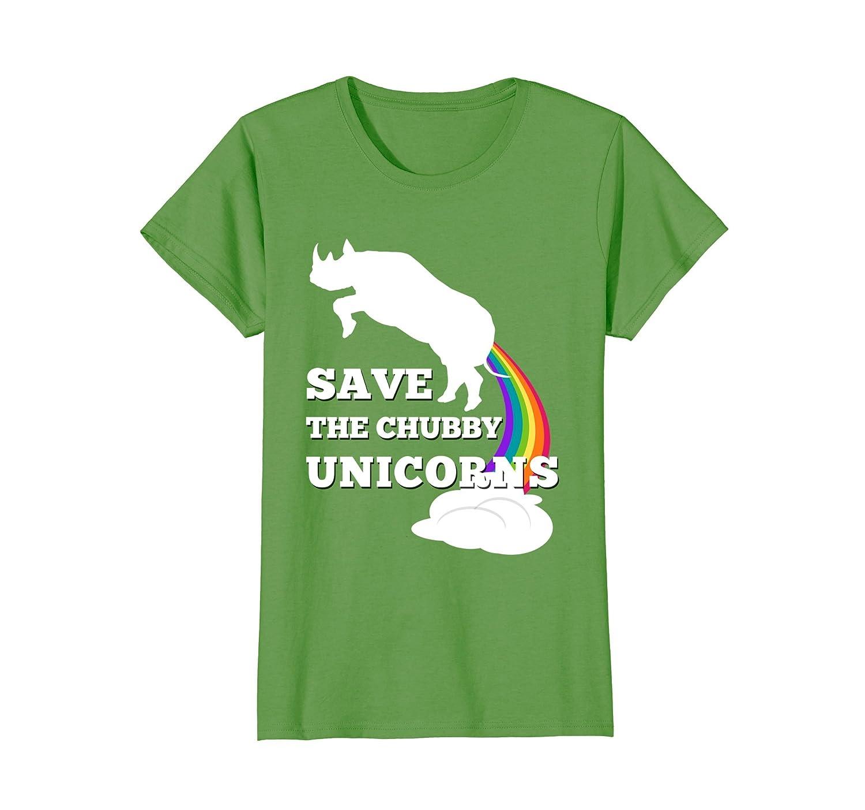 Save the Chubby Unicorns T Shirt  Men  Women-Colonhue