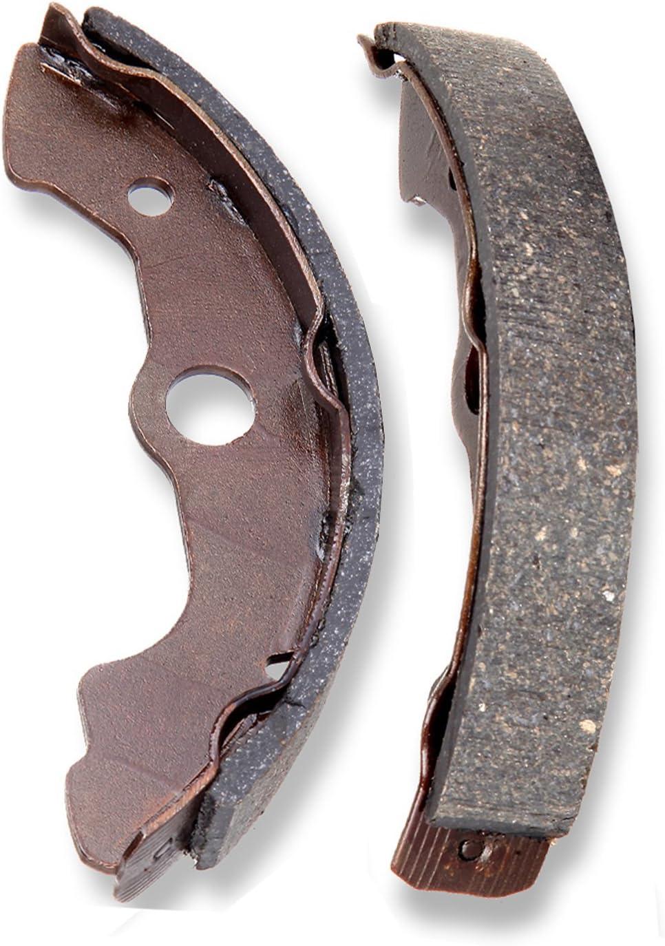 TUPARTS Front and Rear Brake Shoes 347 351 Fit for 1998-2004 Honda Foreman 450 2000-2006 Honda Rancher 350 2004-2007 Honda Rancher 400