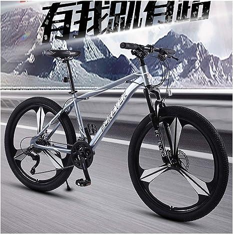 Los Frenos De Bicicleta De Montaña Masculino Través De La Bici De ...