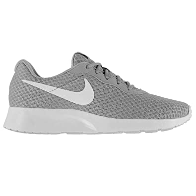 7e9bb737155 Nike Tanjun Training Shoes Mens Grey White Sports Fitness Trainers Sneakers  (UK6) (
