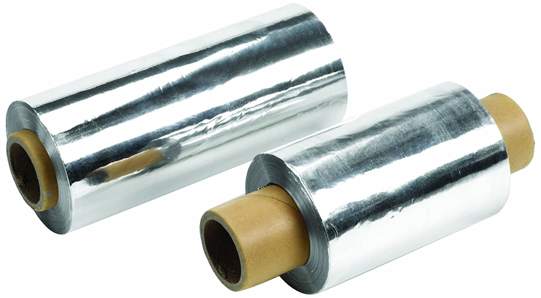Heathrow Scientific HD23536A Foil Roll, Aluminium, 153 mm Width, Metallic