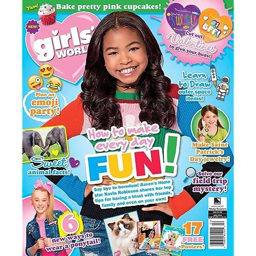 Girls World                                                                                    Print Magazine