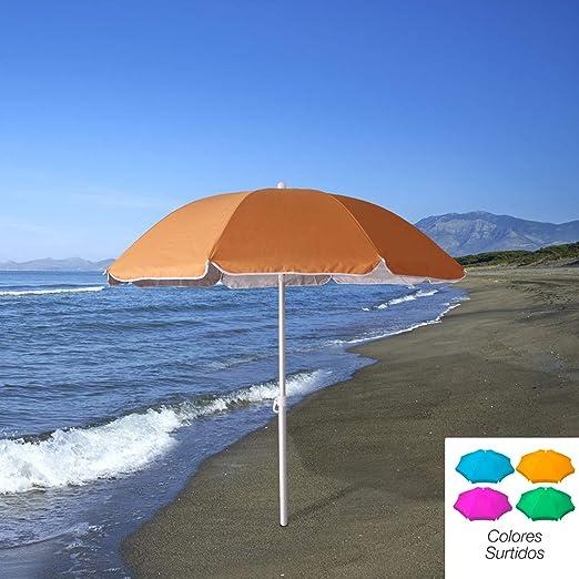 PAPILLON 8042670 Sombrilla Playa Proteccion UV Aluminio 200 cm: Amazon.es: Jardín