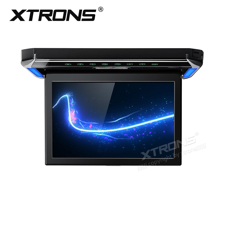 XTRONS 12.1インチ1080pビデオ車オーバーヘッドPlayer屋根マウントモニターHDMIポート ブラック CM121HD B0762MHQG8 CM121HD CM121HD