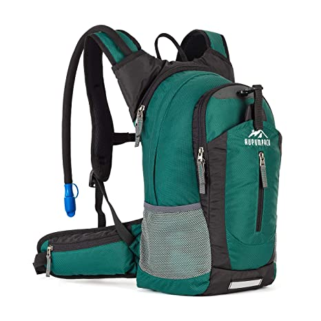 RUPUMPACK Insulated Hydration Backpack Pack with 2.5L BPA Free Bladder,  Lightweight Daypack Water Backpack e936f90181