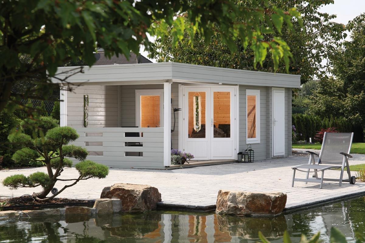 Casas de madera modernas con planos casetas de dise o for Modelos de zapateras de madera modernas