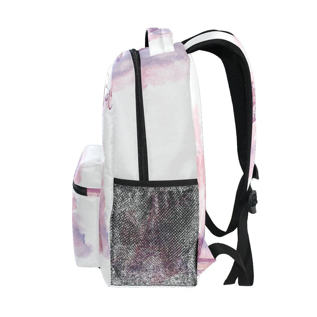 Amazon.com : GIOVANIOR Watercolor Paris Eiffel Tower Landmark Backpack School Bag Bookbag Hiking Travel Rucksack : Sports & Outdoors