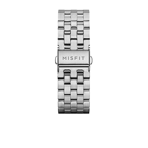 Amazon.com: 20MM Misfit Smartwatch Stainless Steel Link ...