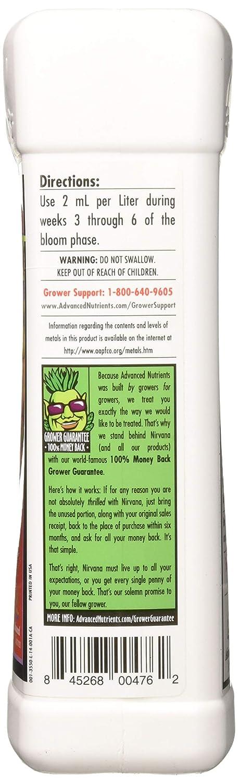 Advanced Nutrients 3550-14 Nirvana Fertilizer 1 Liter, Brown/A