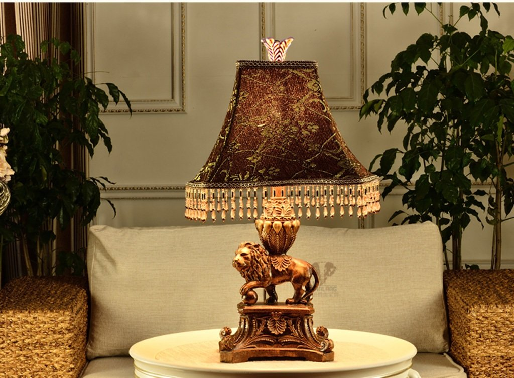 MILUCE European - Style Table Lamp Neo - Classical Decoration Living Room Study Bedroom Bedside Table Lamps