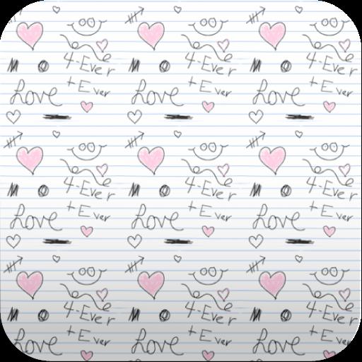 scribble pattern wallpaper (Scribble Wallpaper)