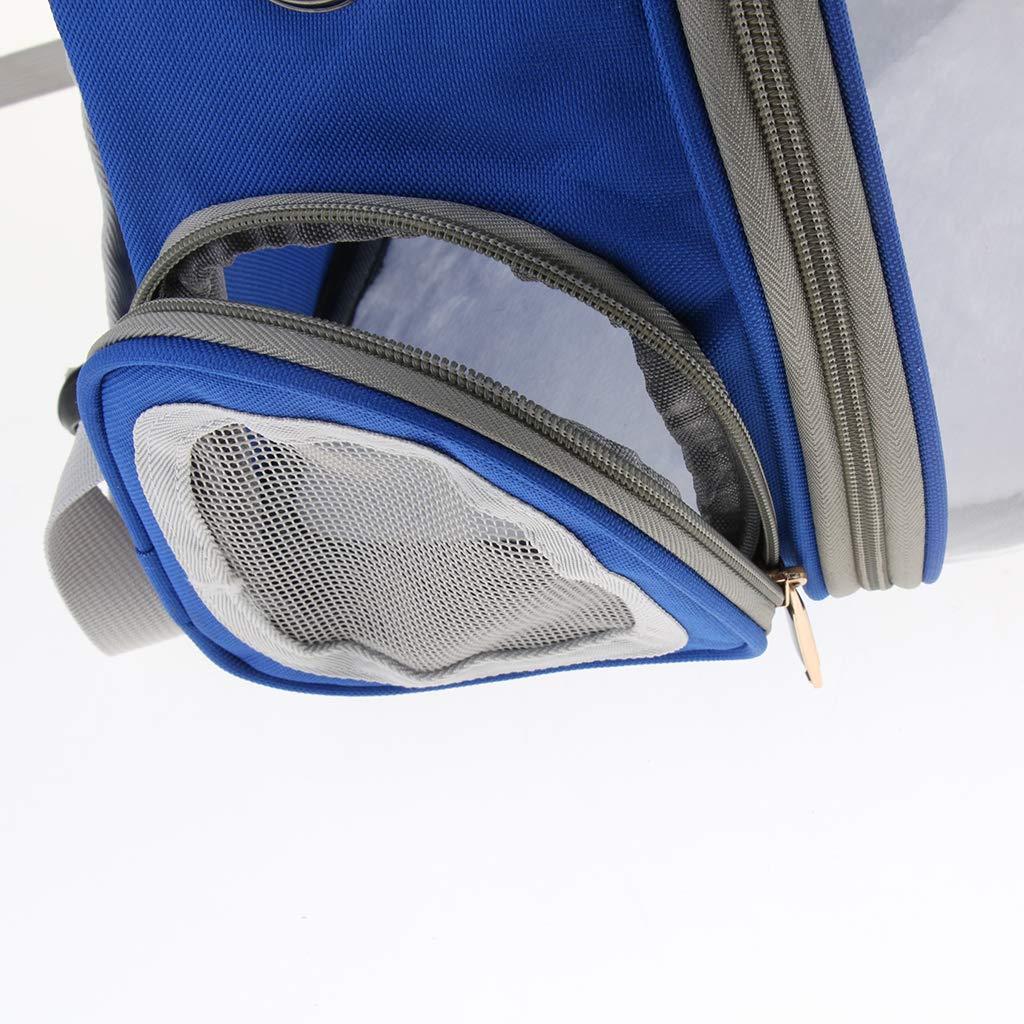non-brand Sharplace Borsa Zaino Carrier Pappagalli Viaggio con Copertura Trasparente Animali Domestici