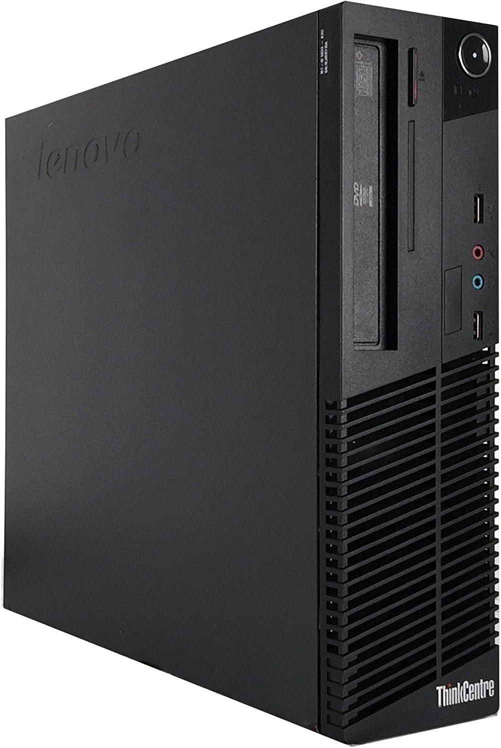 Lenovo ThinkCentre M82 SFF Business Desktop Computer, Intel Core i5-3470 Quad-Core Processor 3.6GHz, 16GB RAM, 2TB HDD, DVD RW, USB, WIFI, Windows 10 Professional (Renewed)
