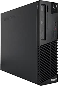 Lenovo ThinkCentre M82 SFF Business Desktop Computer, Intel Core i5-3470 Quad-Core Processor 3.6GHz, 16GB RAM, 2TB HDD, DVD RW, USB, WIFI, Windows 10 Professional (Renewed)