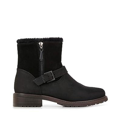 48ea766903ce EMU Australia Roadside Womens Deluxe Wool Waterproof Boots Size 5 Black