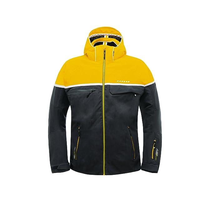 Dare 2B - chaqueta de esquí deportiva Modelo Outrival Hombre Caballero (XS /Limón)