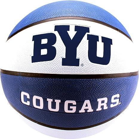 NCAA BYU Cougars Collegiate Deluxe Balón de Baloncesto de Goma de ...