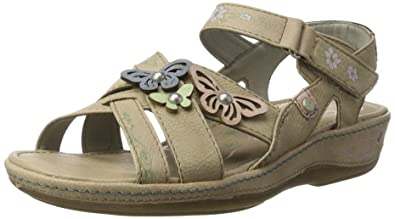 Womens 1240-801-318 Wedge Heels Sandals Mustang zlI9sY