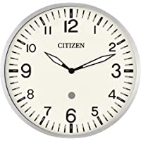 Citizen CC5012 Smart Echo Compatible Wall Clock with Multiple Timers (Silver)