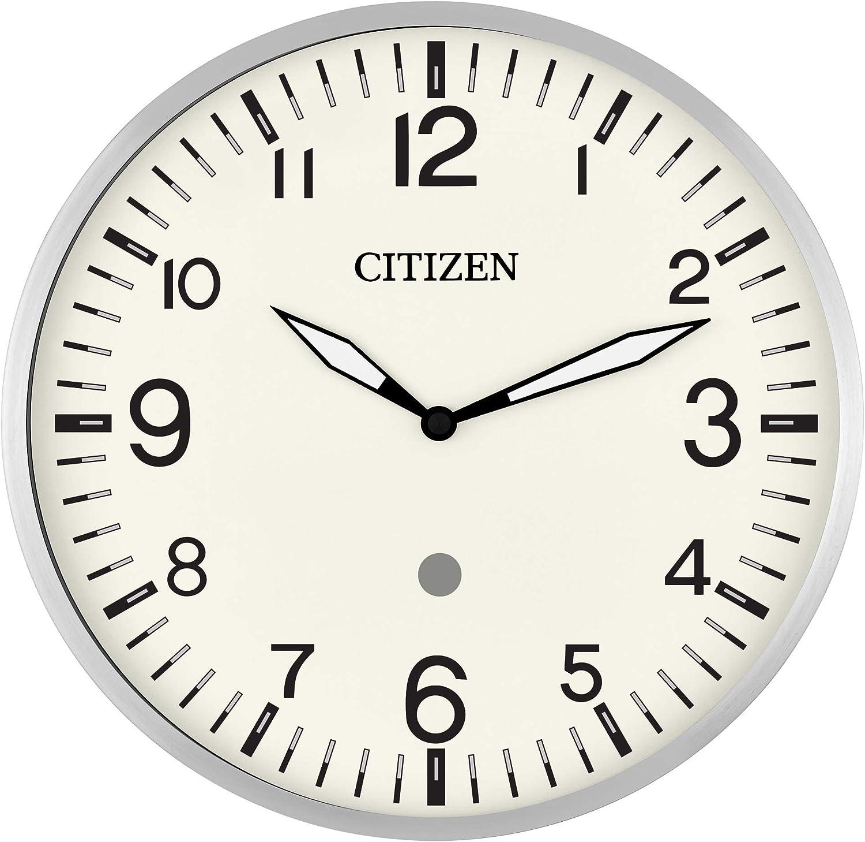 "Vintage 4/"" Citizen Quartz Gold DESK Clock Made in Japan Square Retro Working"
